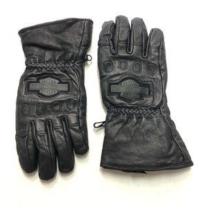 Harley Davidson Windshielder Leather Gloves Small